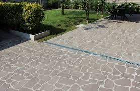 Zoccolo Esterno In Pietra : Porfido per esterni prezzi pavimento la