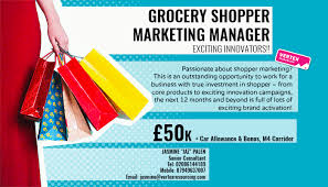 Grocery Shopper Marketing Manager Vertex Resourcing Fmcg