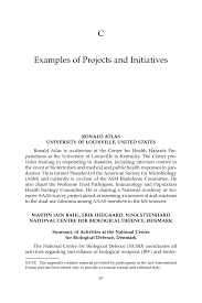 appendix c examples of projects and initiatives the nd  page 97