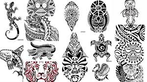 картинки полинезия тату