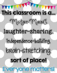 Building Your Kind Caring Growth Mindset Classroom Community