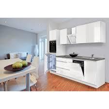 einbauküche hochglanz einbaukuche kuchenzeile weiss grau tobiaskun