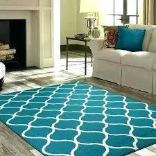 mainstays area rugs teal rug living room or runner frame border 19 x5 black faux sisal mainstays area rugs