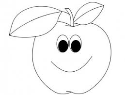 Cartoon Fruits Coloring Pages Crafts And Worksheets For Preschool