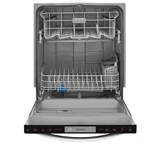 the frigidaire 24 in built in dishwasher with integrated controls uses the exclusive orbitclean spray arm providing you better water coverage for a