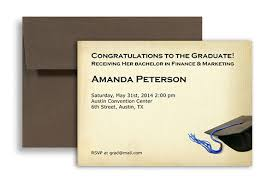 Formal College Graduation Announcements 2019 Formal College Blank Graduation Announcement 7x5 In