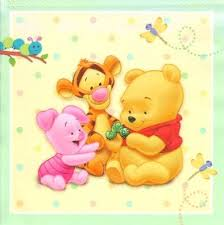 baby tigger baby piglet and baby winnie the pooh