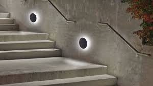 charming led outside wall lights outdoor led light bulbs outdoor wall lamps and gray wall and stairs and plant and stairs hold