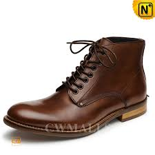 mens lace up leather boots cw726509 cwmalls com
