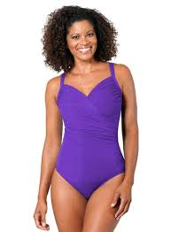 Miraclesuit Dd Cup Solid Captiva Underwire One Piece Swimsuit