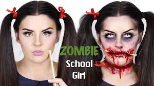 zombie face makeup tutorial you easy