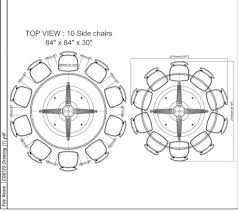 custom 1 pc fixed 84 round mahogany dining table alarqdesign com
