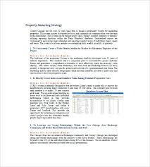 Real Estate Marketing Plan Mesmerizing Real Estate Listing Marketing Plan Template Definition Biology