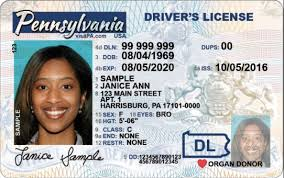 Penndot In Newly Cards Designed Driver's To Phase Licenses Id