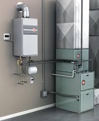 Water Heater Box Using A Tankless Water Heater For Space Heat