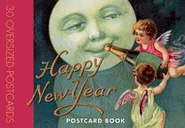 happy new years postcard happy new year postcard book postcard books