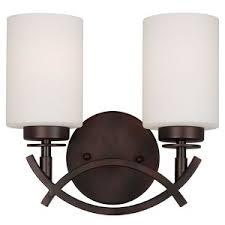 high end lighting fixtures. Antique Bronze Two-Light 10-Inch High Bath Vanity Fixture End Lighting Fixtures I