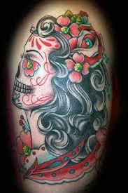 Tetování Lebka Nový Pohled Na Starou
