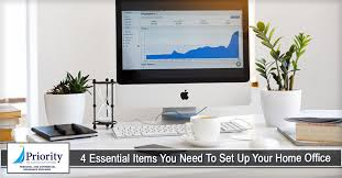 home office items. 4 Essential Items You Need To Set Up Your Home Office - Priority Insurance  LLC Home Office Items F
