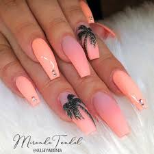 Fresh Tropical Nails Come Out To Play Naildesignsjournalcom
