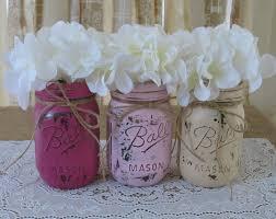 Table Decorations Using Mason Jars wedding centerpiece using mason jars Picture Ideas References 55