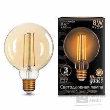 <b>GAUSS</b> Светодиодные лампы <b>GAUSS 105802008</b> Светодиодная ...