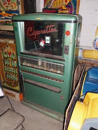 Old Cigarette Vending Machine Interesting Vintage Cigarette Vending Machine Antiques Etc Pinterest