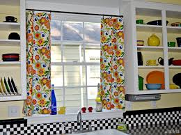 colorful kitchen curtains inspirations and decor images decoration
