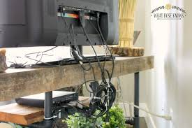iron pipe furniture. Reclaimed Wood And Pipe TV Stand Iron Furniture