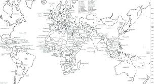 Coloring Pages World Map Coloring Pages Of The World Children Of The