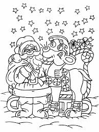 Small Picture Coloring Pages Rudolph The Red Nosed Christmas Reindeer Coloring