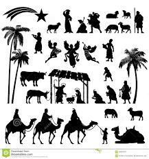nativity silhouette patterns download.  Nativity Nativity Silhouette Set Download Preview Intended Patterns T