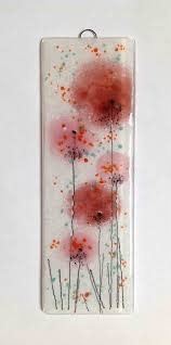 1000 images about fused glass flowers trees on