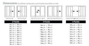 average sliding door width sliding glass door measurements average patio door size average height and width