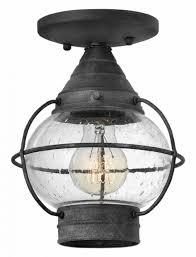 Outdoor Lantern Lights Flush Mount Porch Light Outdoor Ceiling