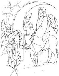 Small Picture palm sunday coloring pages