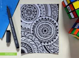 Doodle Patterns Inspiration Doodle Circular Pattern Design By PicCandle On DeviantArt