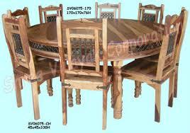 wooden dining table set sheesham wood furniture 350x350