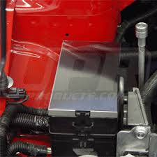 05 09 mustang gt gt500 stainless steel fuse box cover