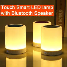 bluetooth speaker lamp touch smart led lamp with speaker touch lamp table lamp night light speaker