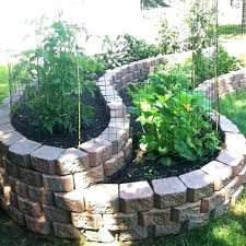 stone raised garden bed home depot landscaping stones able in organization ideas beds cos stone raised beds