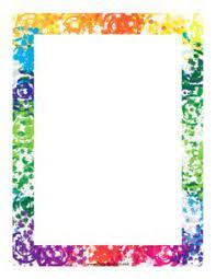 Free flourish border templates including printable border paper and clip art versions. Printable School Page Borders Google Search Colorful Borders Clip Art Borders Page Borders