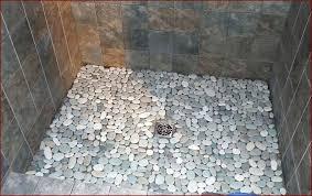 showers rock tile shower best of river rock tile pebble tile shower floor home design