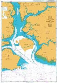 British Admiralty Charts Amazon Com Ba Chart 4043 Malaysia And Singapore Kuala