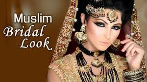 makeup tutorials to transform into a beautiful muslim bride