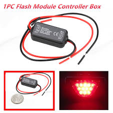 Brake Light Flasher For Car Us 1 66 16 Off Car Strobe Controller Brake Light Flasher Module Flashing Back Rear Brake Light Led Flash Tail Stop Accessories 12 29 In Signal Lamp