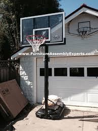 costco lifetime portable basketball hoop assembled in woodbridge costco