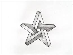 だれでも描ける線画アート 面白いだまし絵の描き方スター編 How To Draw