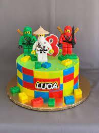 Ninja Lego Birthday Cake — Skazka Desserts Bakery NJ – Custom Birthday Cakes,  Cupcakes shop