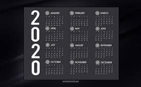 2020 Wallpaper Desktop Calender (Page 1 ...